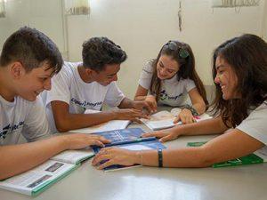 Sala para estudos em grupo